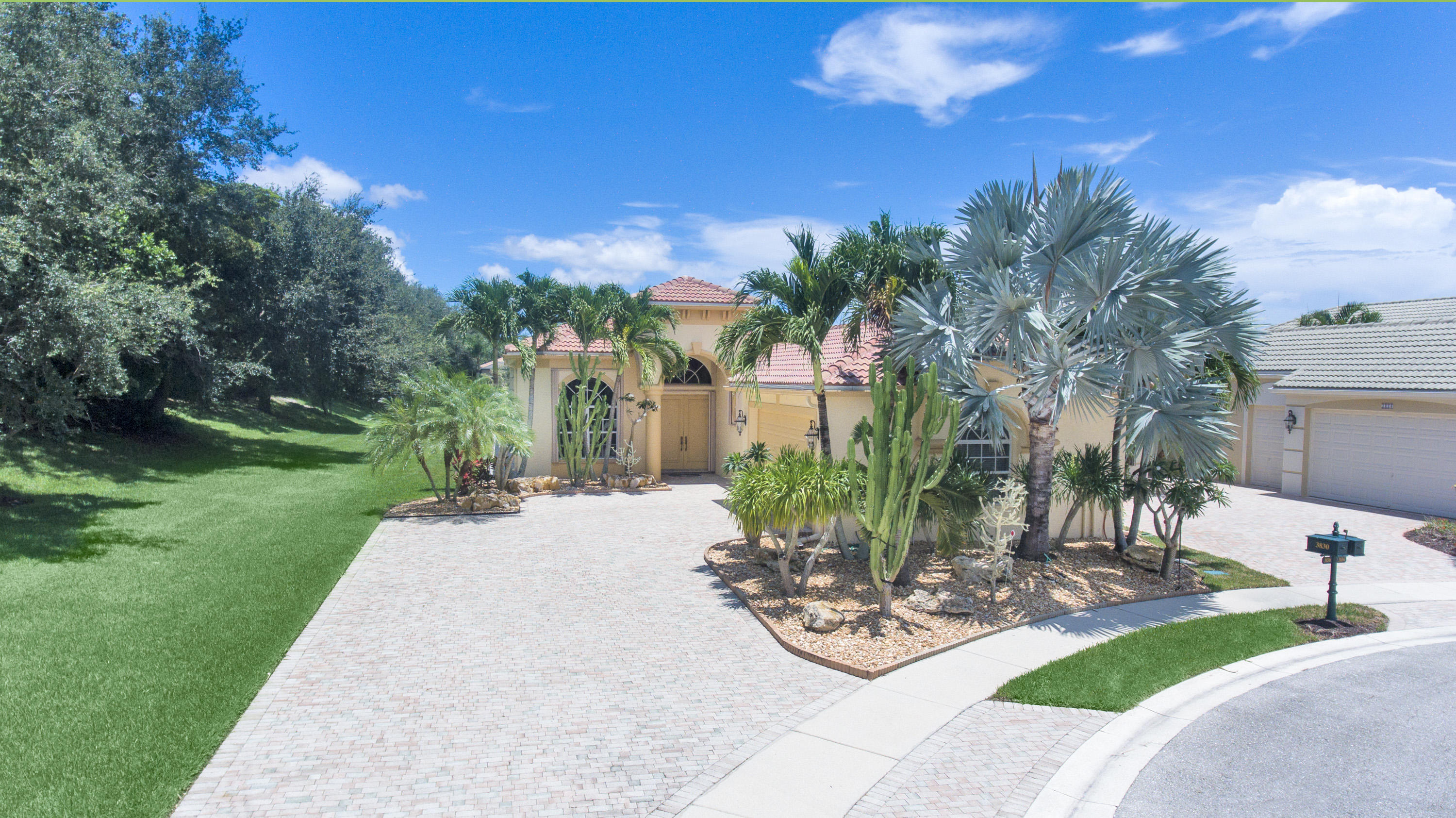 Photo of home for sale at 3830 Netherlee Way, Lake Worth FL