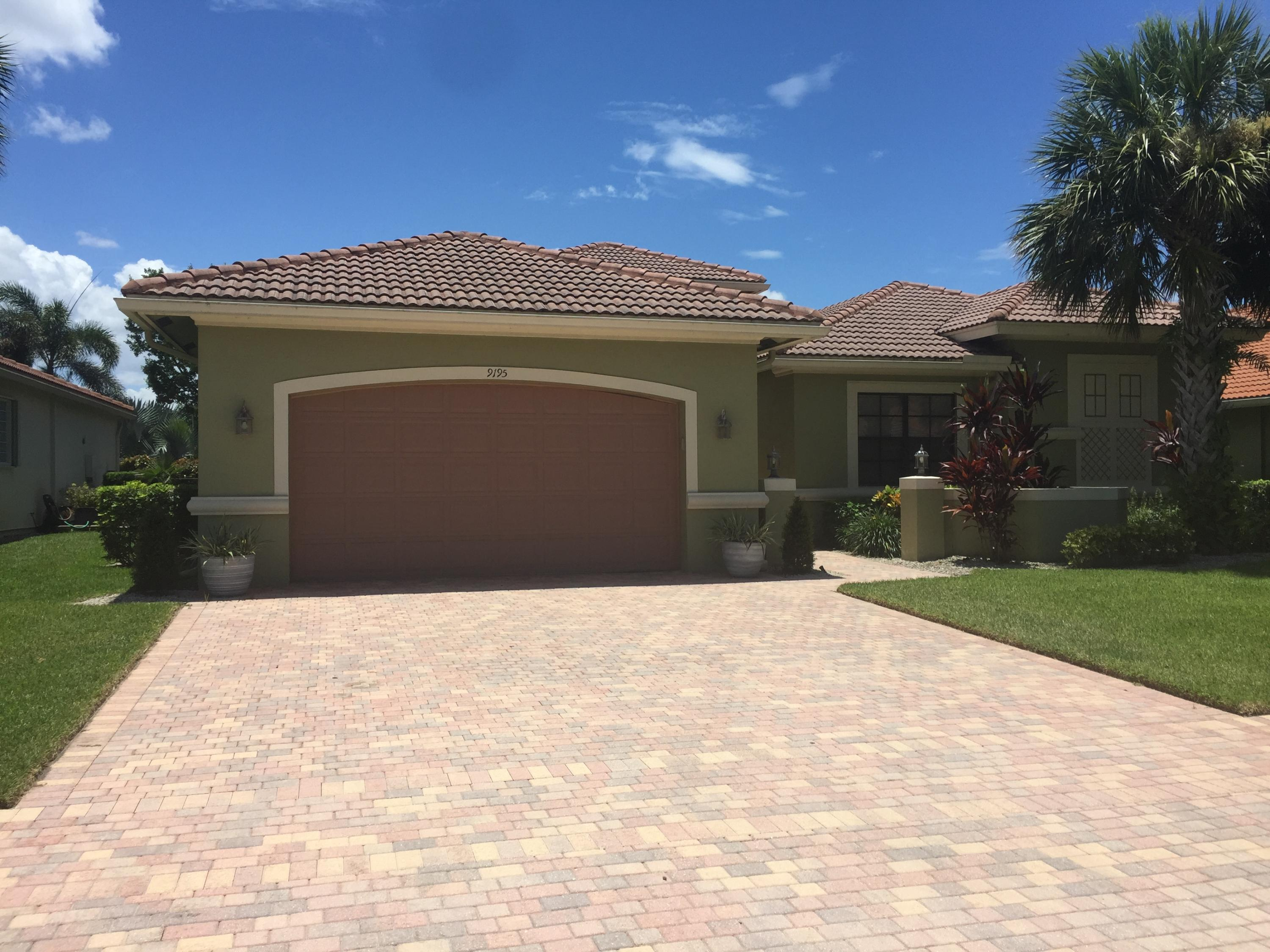 Photo of home for sale at 9195 Isles Cay Drive, Delray Beach FL