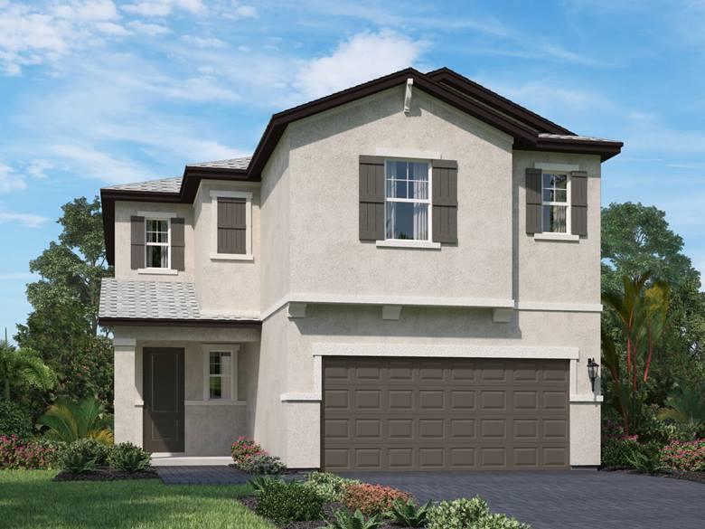 Photo of home for sale at 1831 Lake Cove Drive, Lake Worth FL