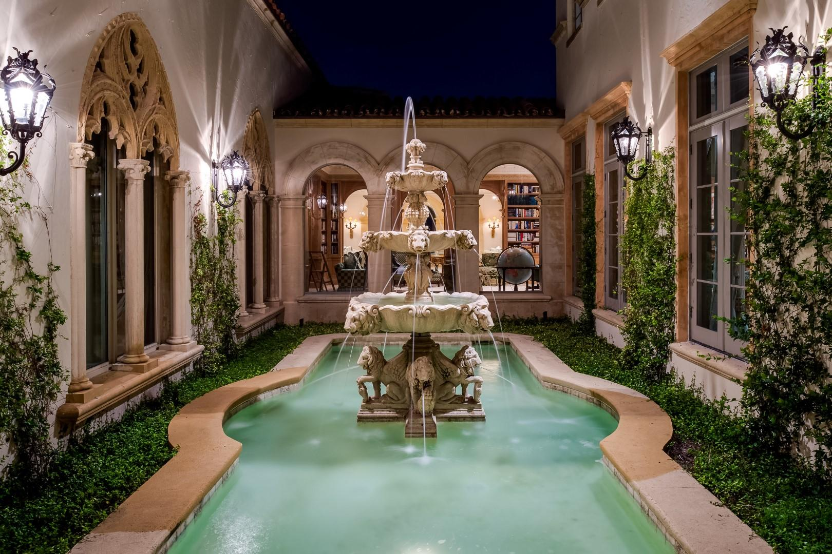 Romantic Courtyard