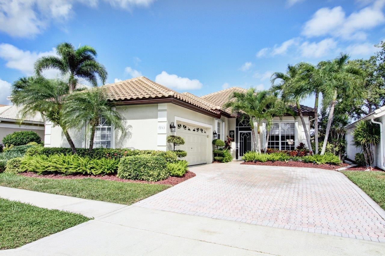 7743 Doubleton Drive  Delray Beach, FL 33446