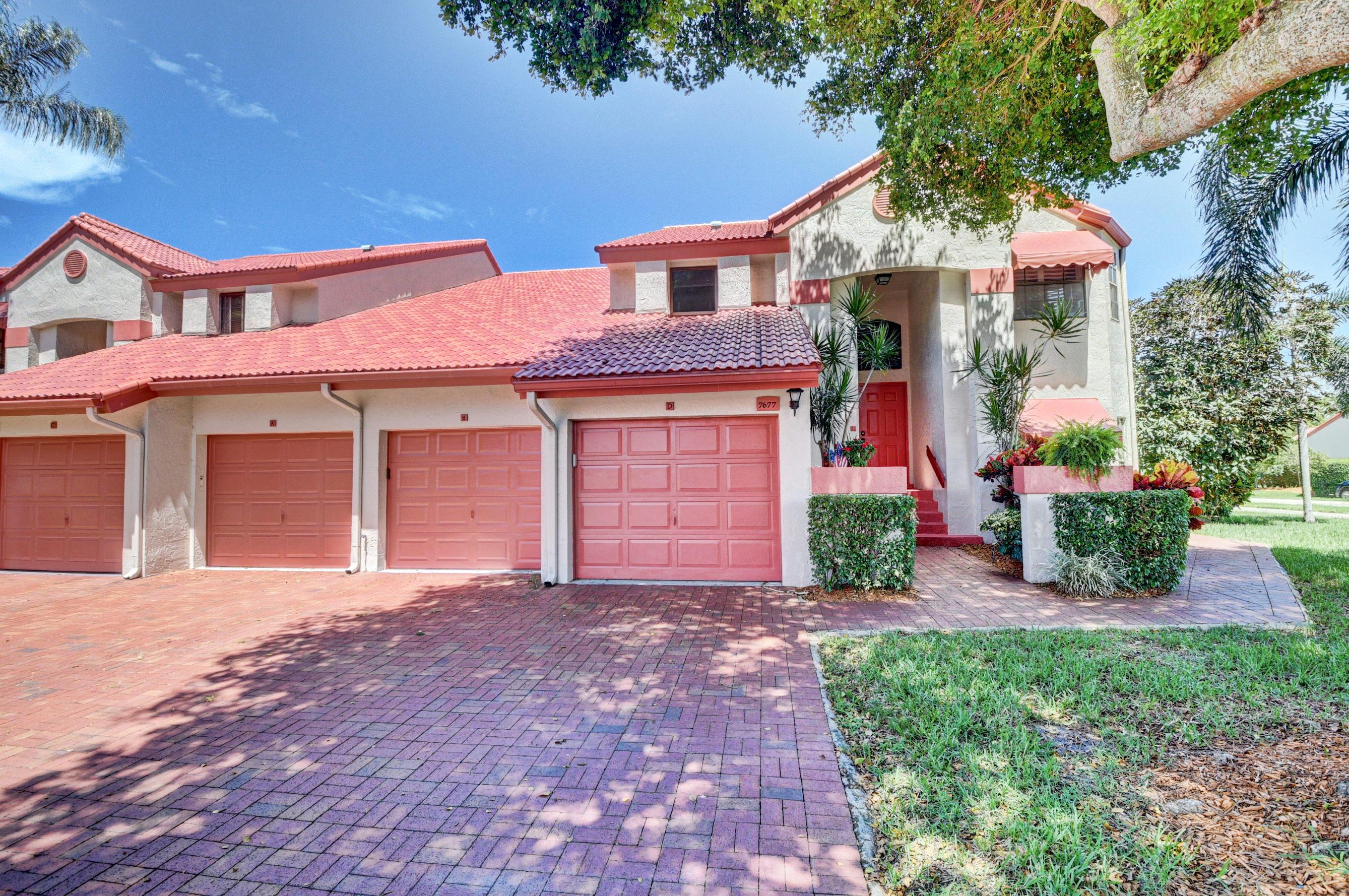 Home for sale in Lexington Club Villas Condominium Association Delray Beach Florida