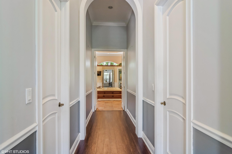 Master Closets/Entry to Bath