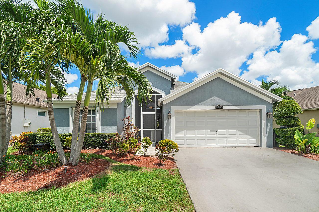 Home for sale in RIVER BRIDGE PUD 2B Greenacres Florida