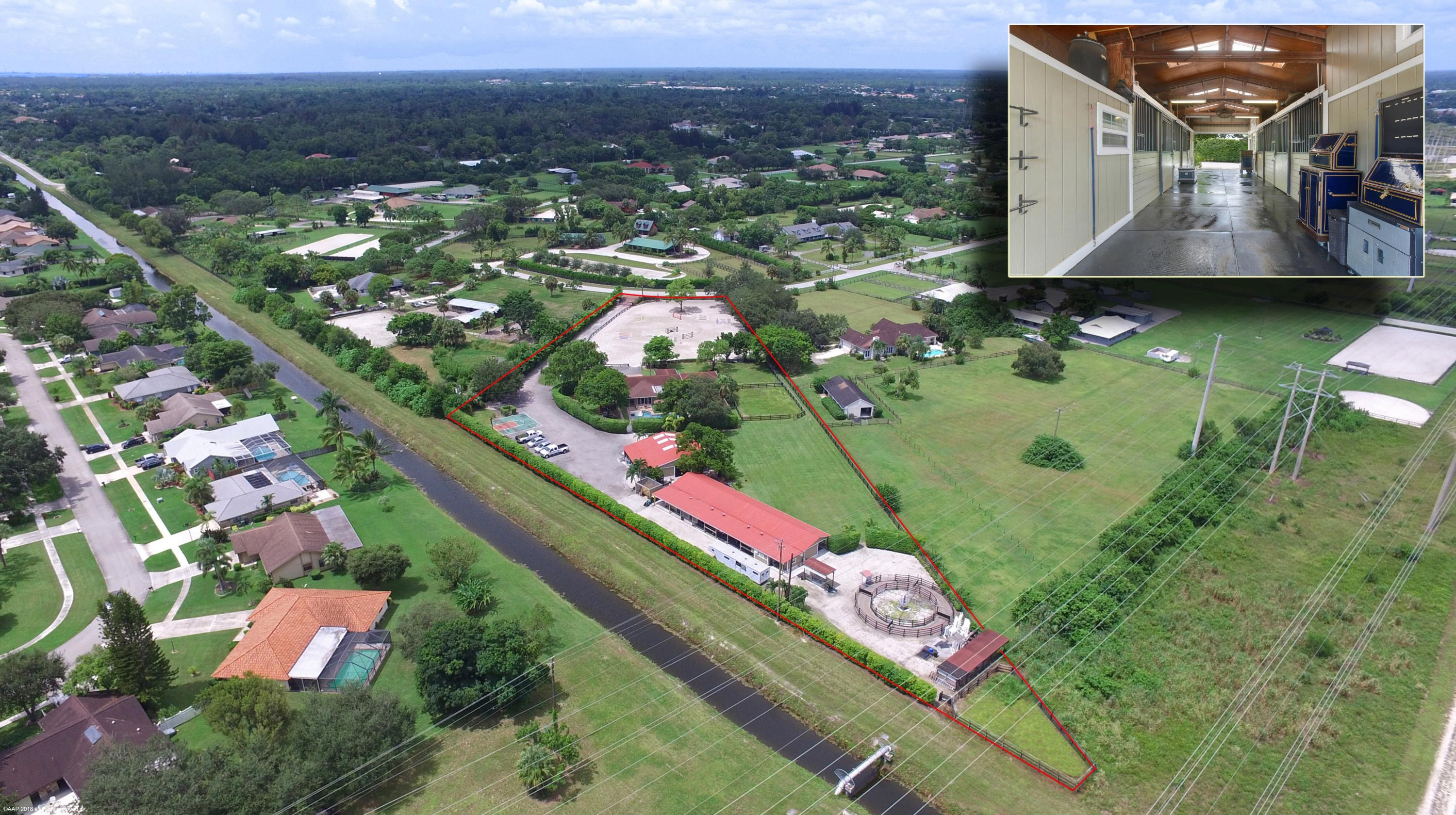 Home for sale in PALM BEACH LITTLE RANCHES EAST OF WELLINGTON Wellington Florida
