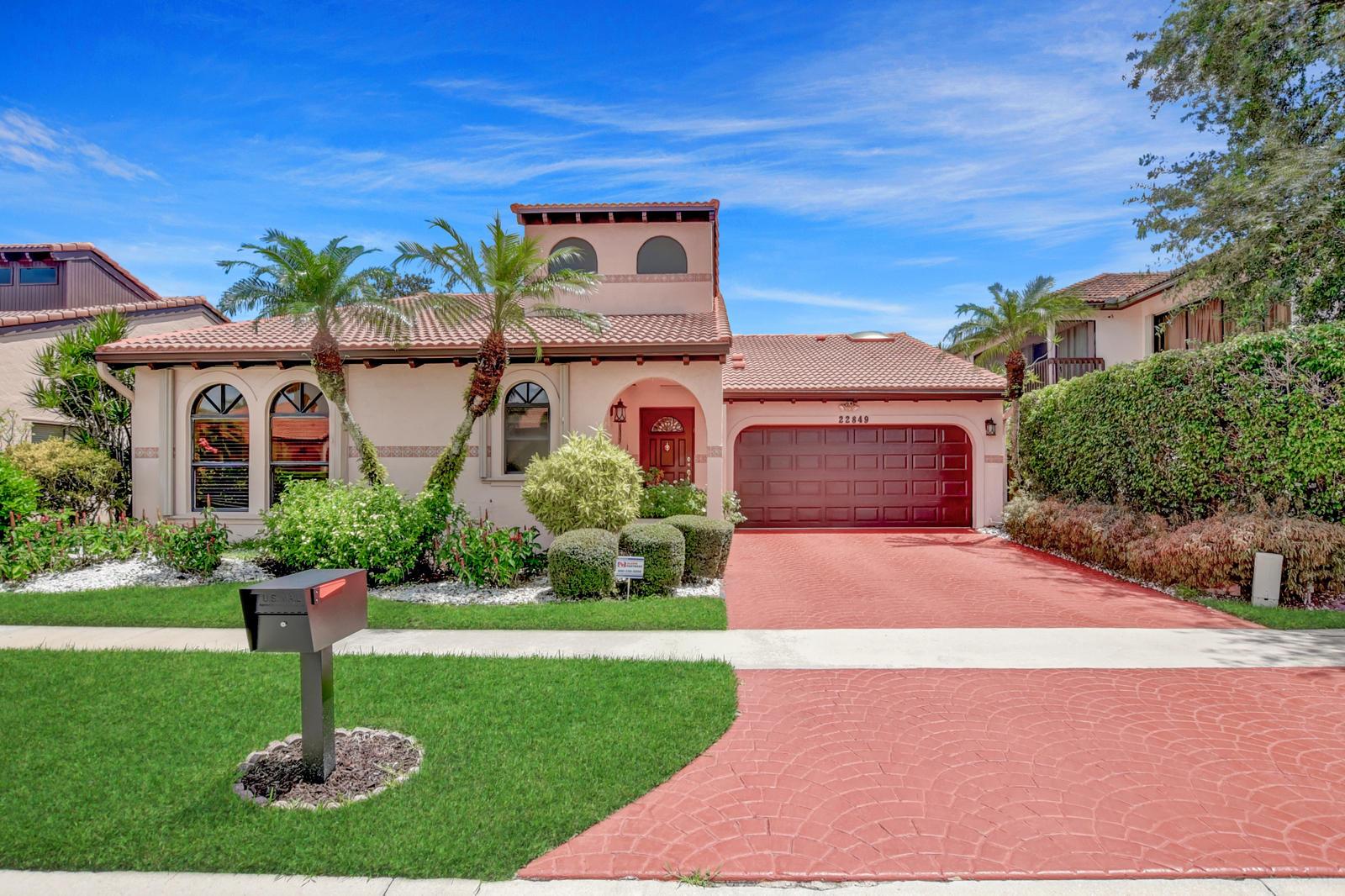 Home for sale in Marbella Lakes Boca Raton Florida