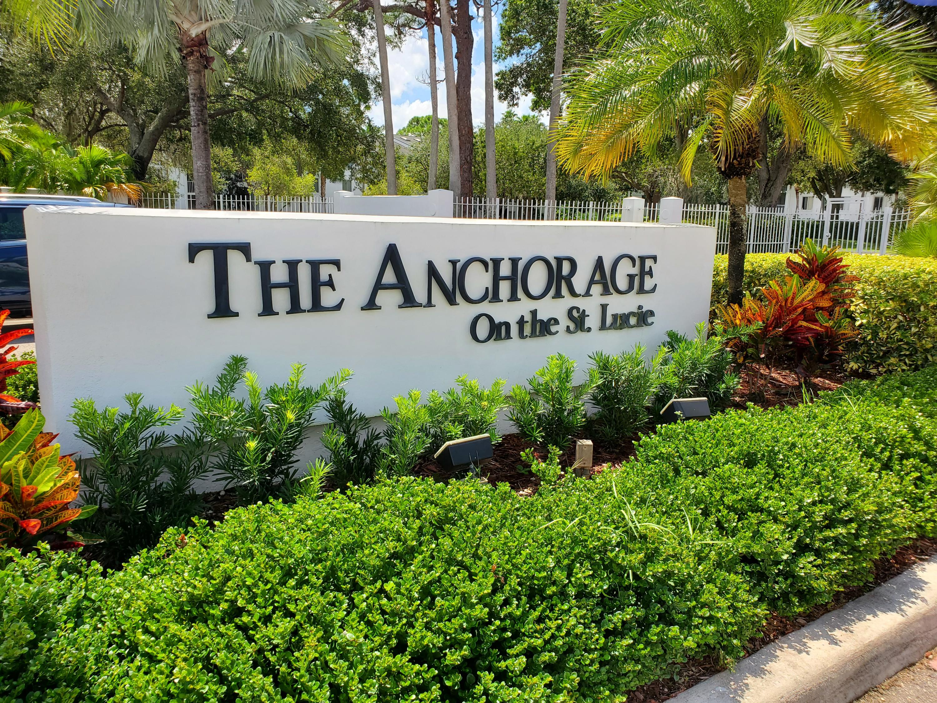 ANCHORAGE ON THE ST LUCIE REAL ESTATE