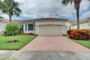 FLORAL LAKES home 6164 Petunia Road Delray Beach FL 33484