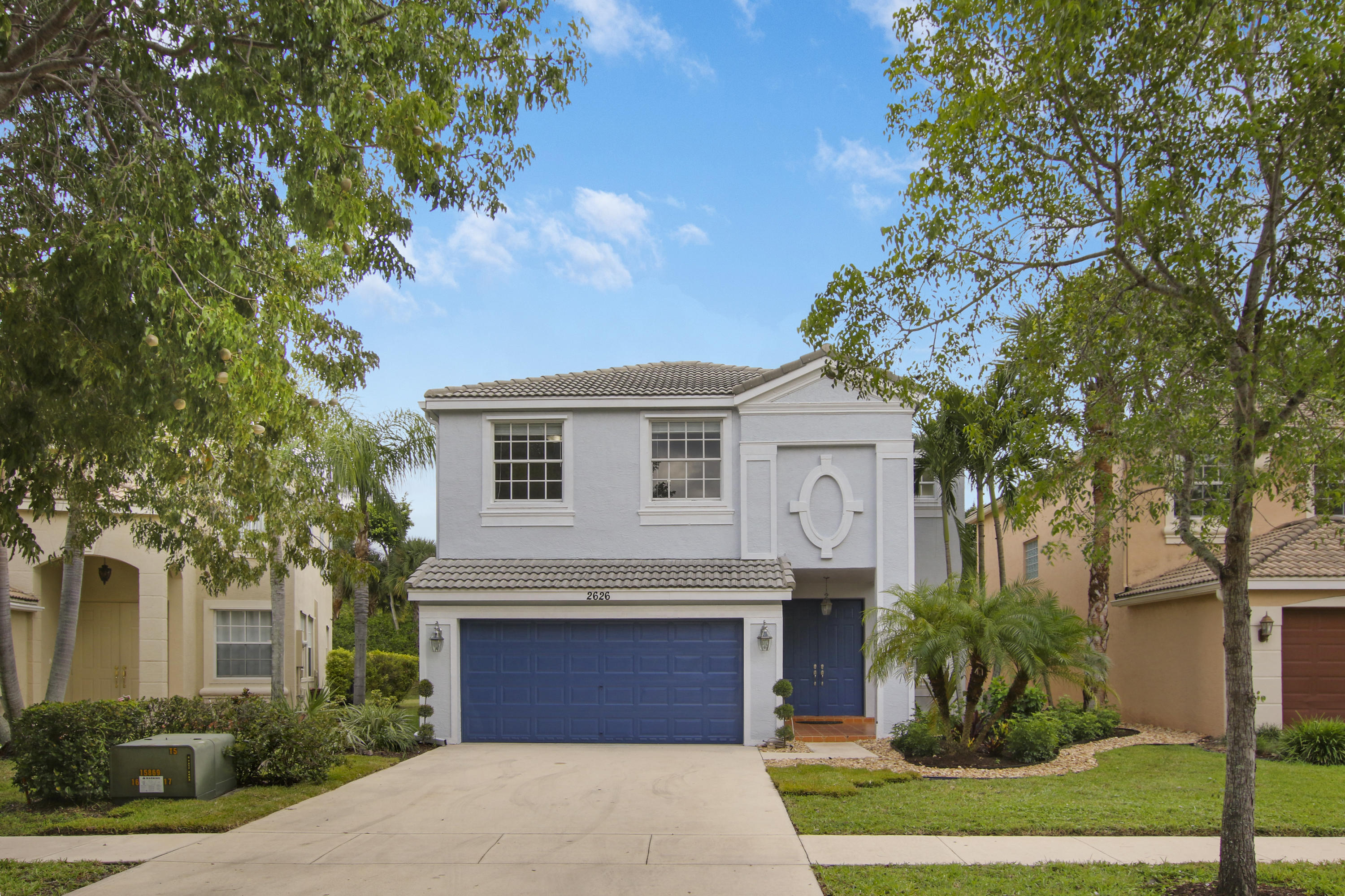 Photo of home for sale at 2626 Sawyer Terrace, Wellington FL