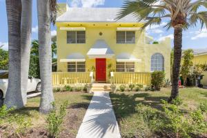 Buy your 2-story Palm Beach Style Home ,on 3rd T,of Lake Worth Golf Course/Intracoastal Waterway with 2 marinas!14X23 Downstairs Bedroom/Bath.2nd Floor REC room,glass enclosed with 180degree Golfcourse/Palm Beach bridge to Ocean view.Walk to Downtown and Palm Beach Island Beach..Living Room Palla-dian windowed,formal drapes sliding doors onto covered Patio four outdoor Dining w.Ocean breezes.Owner will carry small  partial finance.