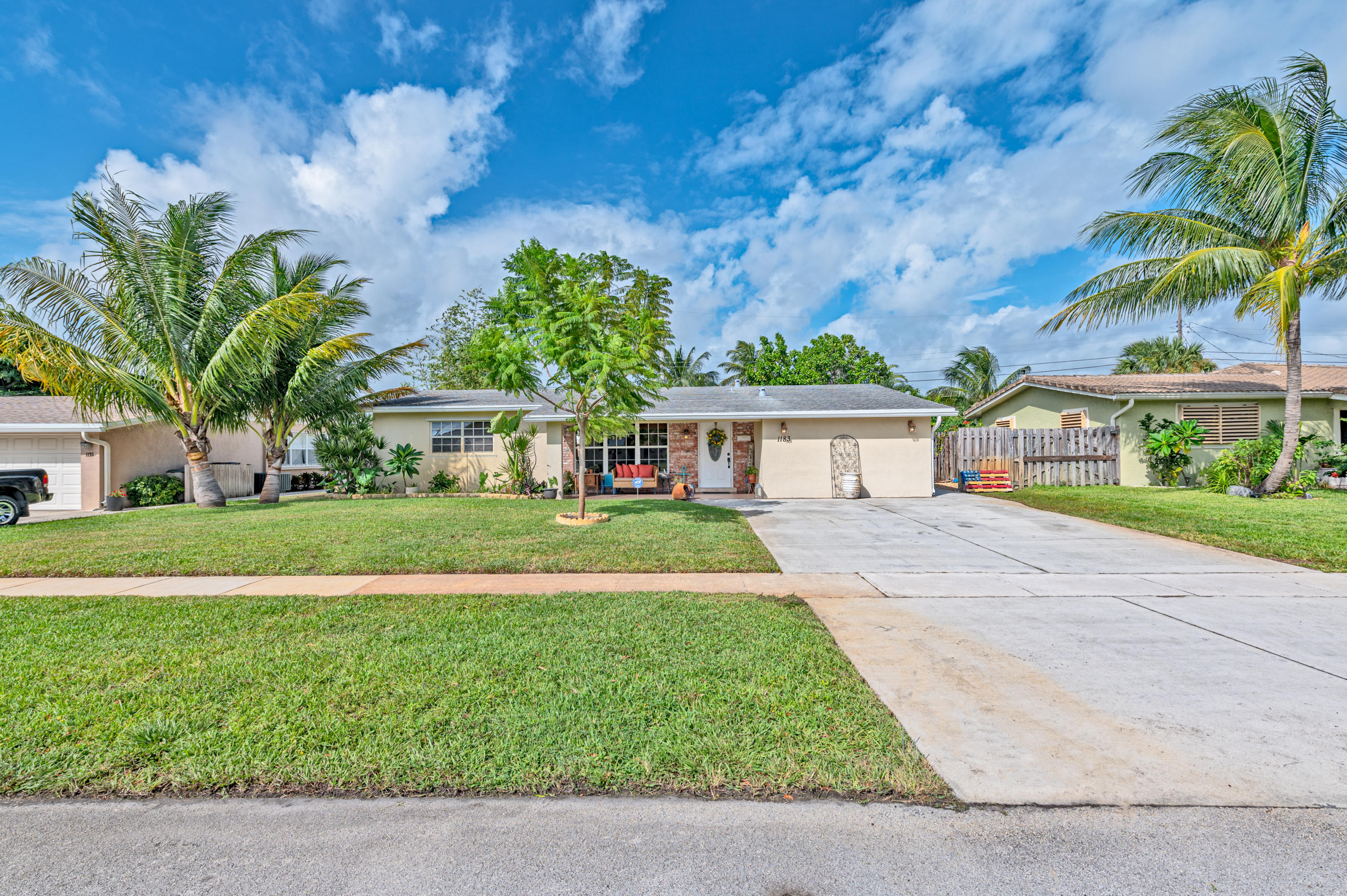 Photo of home for sale at 1183 1st Way SE, Deerfield Beach FL