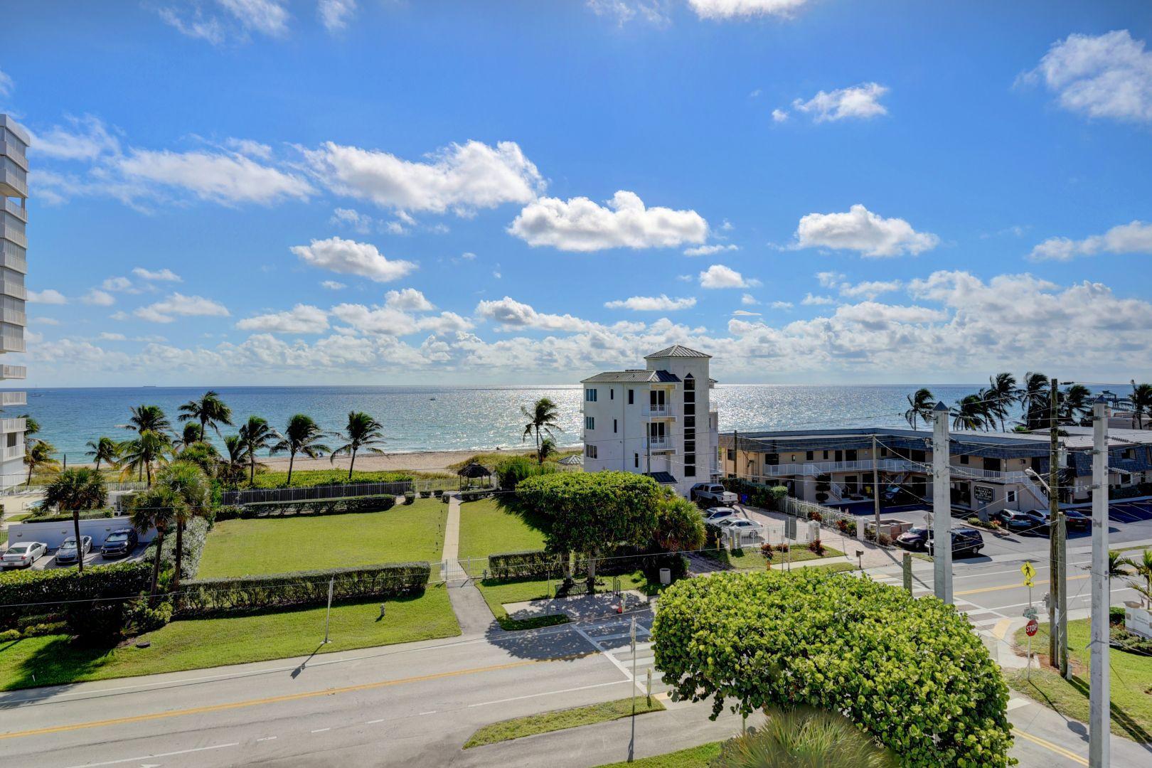 Photo of home for sale at 3051 Ocean Boulevard S, Boca Raton FL