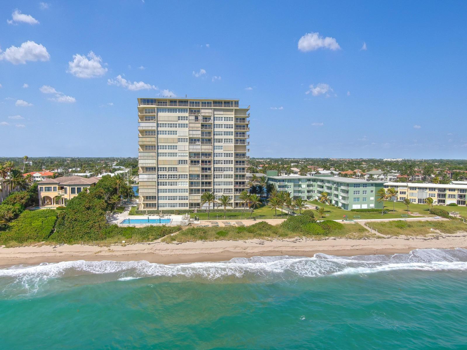 Photo of home for sale at 1021 Hillsboro Mile, Hillsboro Beach FL