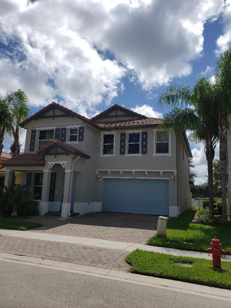 Photo of home for sale at 8718 Tally Ho Lane, Royal Palm Beach FL