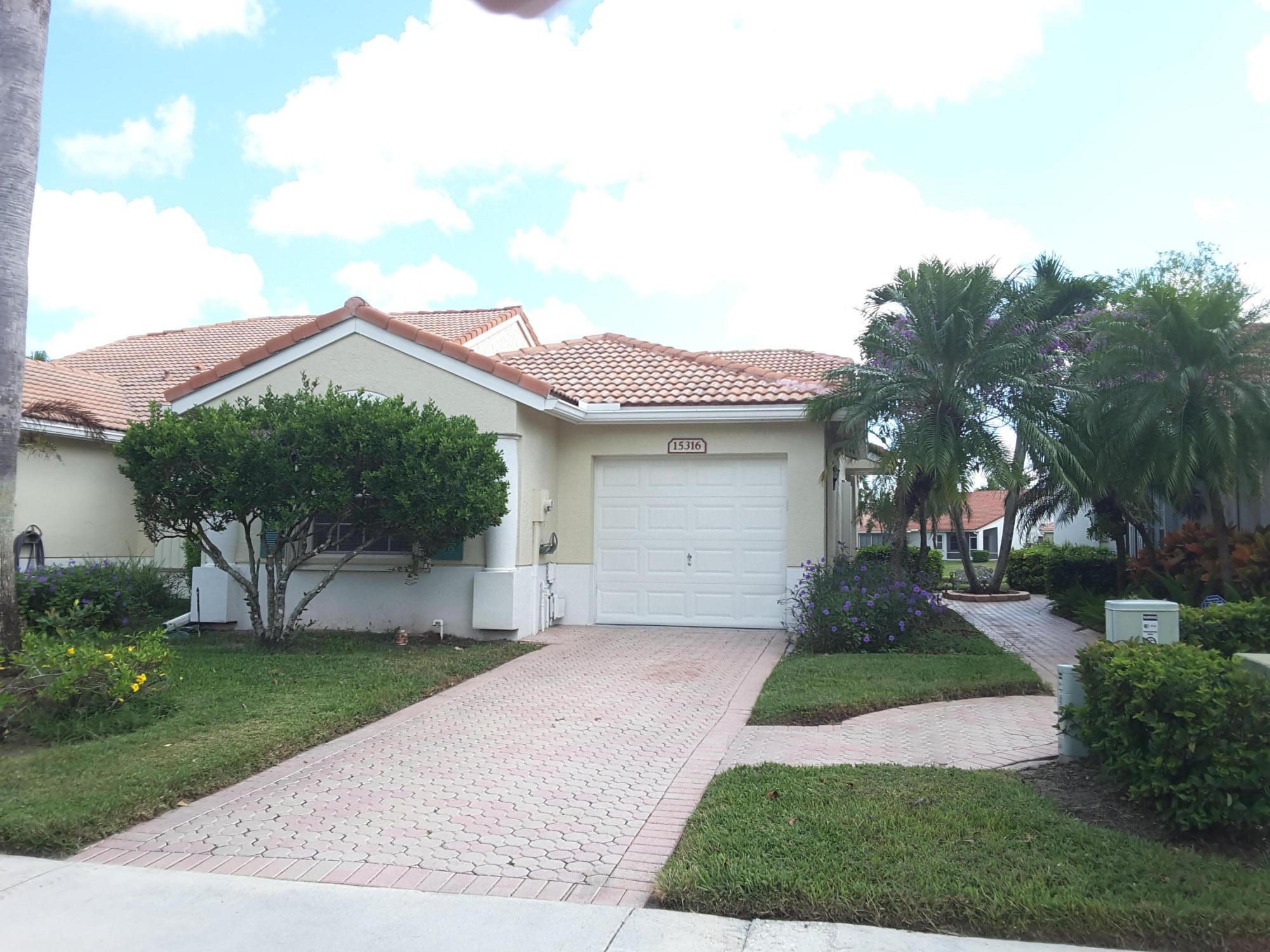 Photo of home for sale at 15316 Floral Club Road, Delray Beach FL