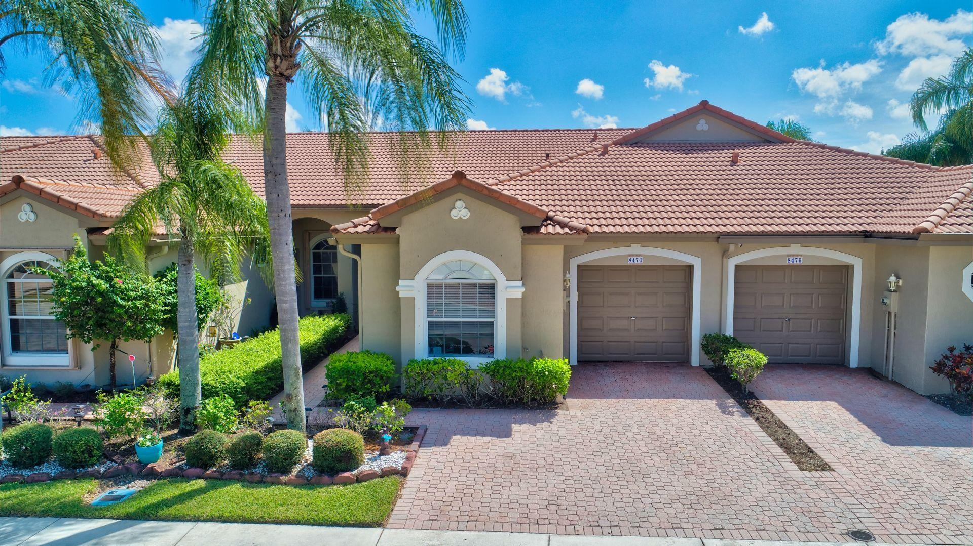 Photo of home for sale at 8470 Via Serena, Boca Raton FL