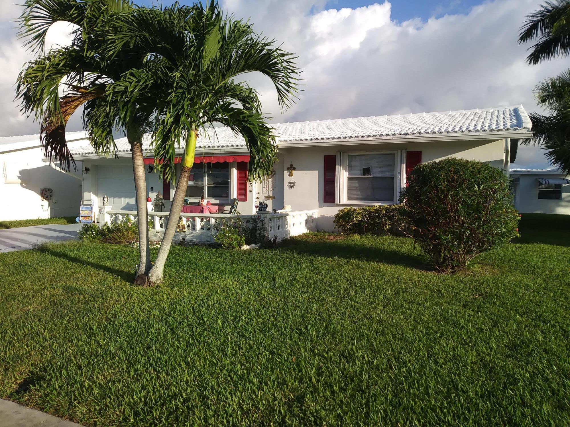 Home for sale in PALM BEACH LEISUREVILLE Boynton Beach Florida