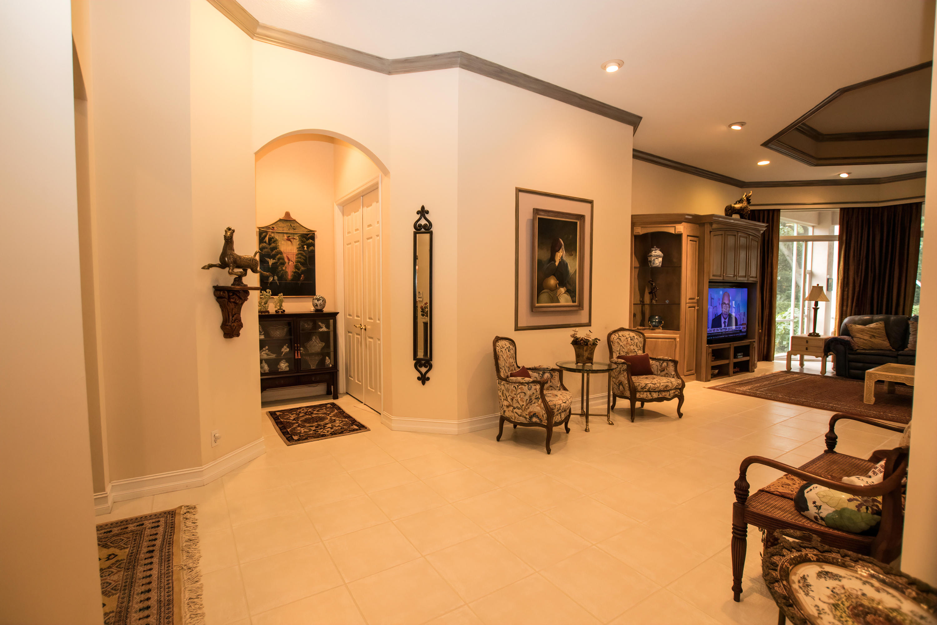 Entryway to Great Room