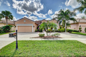 Bellaggio home 9604 Bergamo Street Lake Worth FL 33467