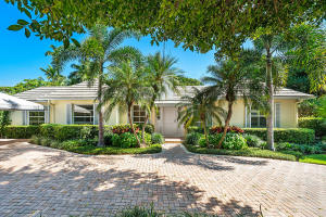 Spectacular Opportunity in the Heart of Gulf Stream, Located in one of the most sought after areas in Palm Beach County. Sited on an oversized lot this charming 3 Bedroom 3 Bath home is the perfect canvas to create the ultimate estate or remodel to your taste.  Offering 2300 square feet the home features an updated kitchen, cypress ceilings, pool, hot tub and a generous back yard with abundant lush landscape with lots of secluded pathways and hidden areas for exploration. Enjoy cool ocean breezes, world-renowned beaches and famed Atlantic Avenue just moments away. Close to the Gulf Stream School.