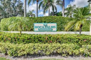 Boca Palms Condo I Thru Iv 22136 Palms Way