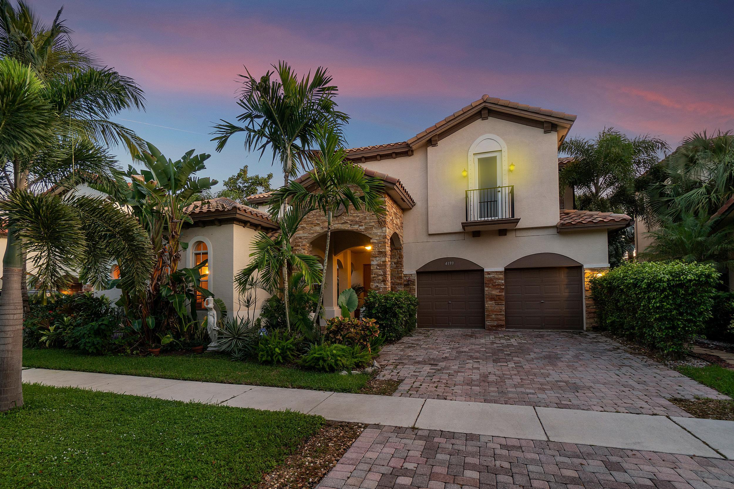 Home for sale in Artesa Boynton Beach Florida