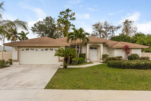 Home for sale in CRESTWOOD UNIT 1 PL 3 Royal Palm Beach Florida
