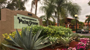 PALM GREENS AT VILLA DEL RAY CONDO II home 5819 Areca Palm Court Delray Beach FL 33484