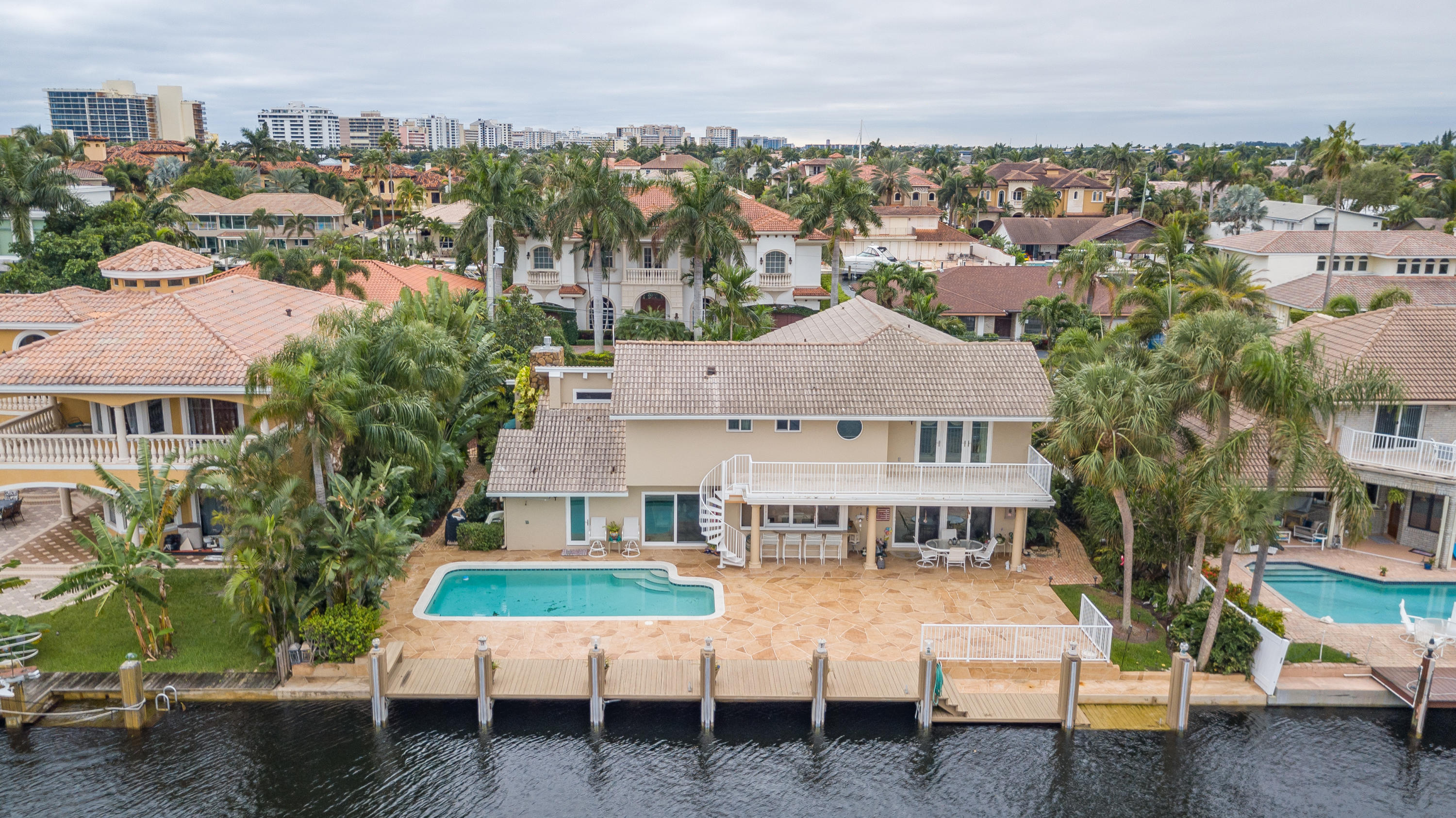 Welcome Home to Tropic Isle, Delray Beach's prestigious intracoastal community just minutes to trend