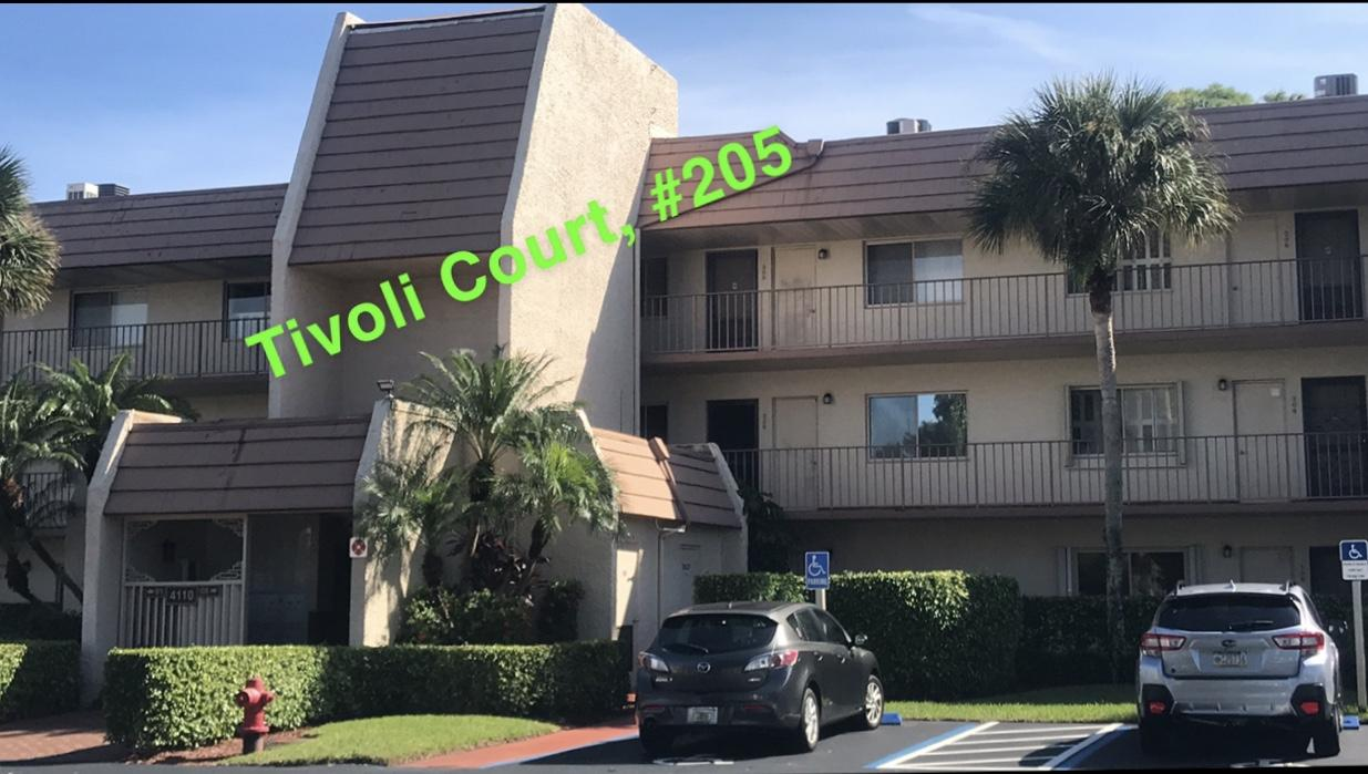 4110 Tivoli Court 205 Lake Worth, FL 33467 Lake Worth FL 33467