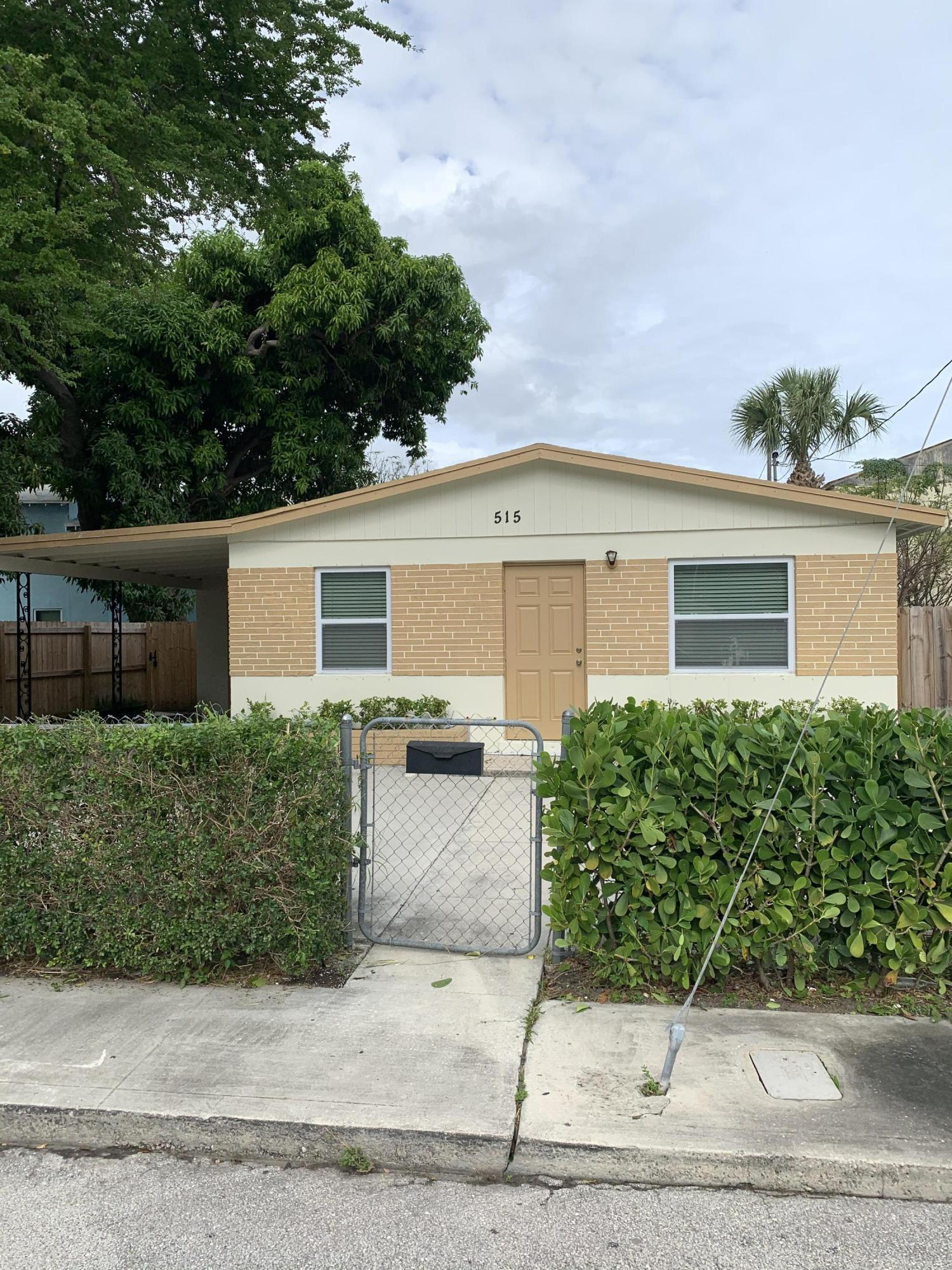 515 Cheerful Street  West Palm Beach, FL 33407
