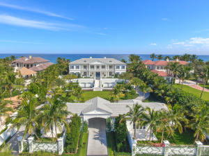 Construction is now completed at this stunning new oceanfront compound. Large open spaces with great volume in major rooms with sweeping ocean and Intracoastal views. Several bedrooms and baths in the main, guest and staff houses to accommodate your family.