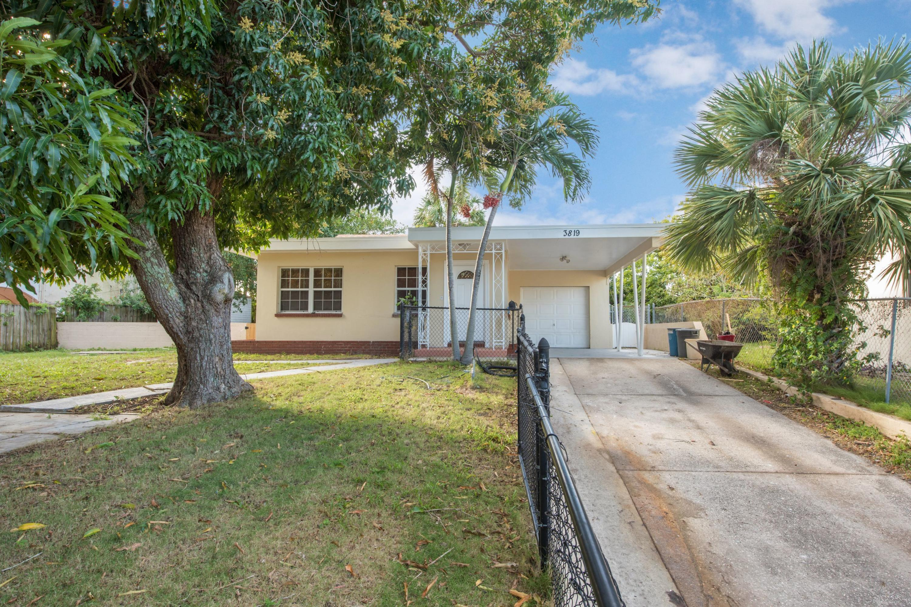 Home for sale in Northwood Addition West Palm Beach Florida