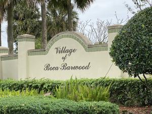 Village Of Boca Barwood