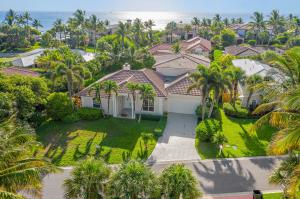 Living the dream: just a quick minute walk down this brick paved path is the ocean and one of the most infamous sea turtle nesting beaches in Florida. Pure paradise. This is an exquisite home located in Jupiter Inlet Beach Colony featuring, 3 bedrooms and 3 1/2 baths with a gourmet eat-in kitchen, family room, formal living and dining room, and master located on the first floor. The second floor has 2 bedrooms with an adjoining covered balcony overlooking a beautiful outdoor heated pool and patio, prefect for entertaining. The location is fantastic with just a 2 minute walk to the jib marina and beach. M The home, built in 2003, is CBS construction with tile roof, PGT hurricane sliding doors and windows through whole house. New ac units Dont miss out on this fantastic opportunity.