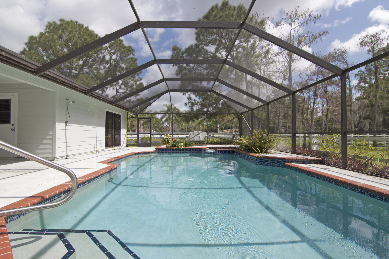 Heated and screened pool
