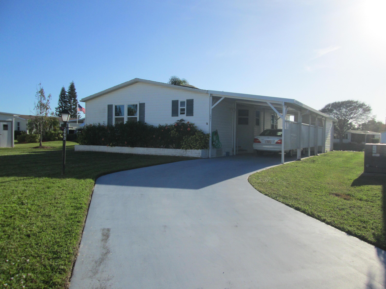 2993 Saltbush Court, Port Saint Lucie, Florida 34952, 2 Bedrooms Bedrooms, ,2 BathroomsBathrooms,A,Mobile/manufactured,Saltbush,RX-10593641