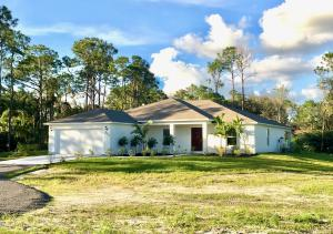 Brand new home.  Impact windows.  Samsung top of the line appliances.  42 solid wood cabinets. R-30 insulation.  Parking for camper.  Plenty of room for work shop in the future.    Builder 1 year warranty.  Walking distance to Publix and shopping.