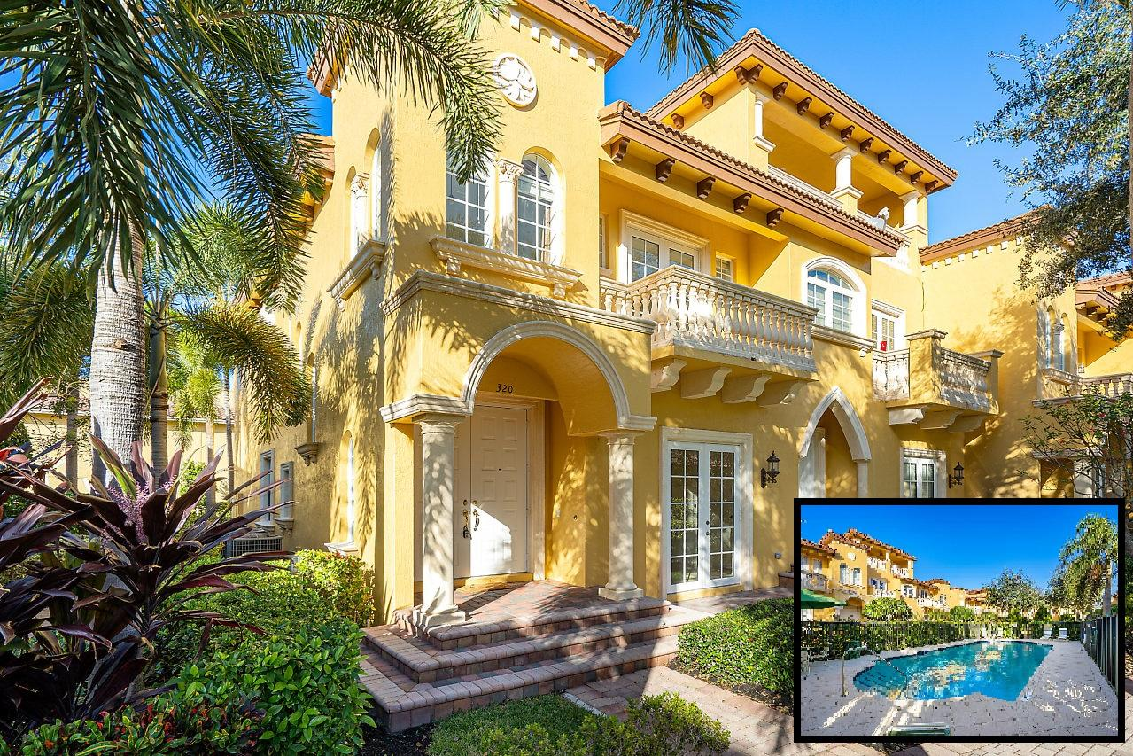 Home for sale in Tuscany Village Boca Raton Florida