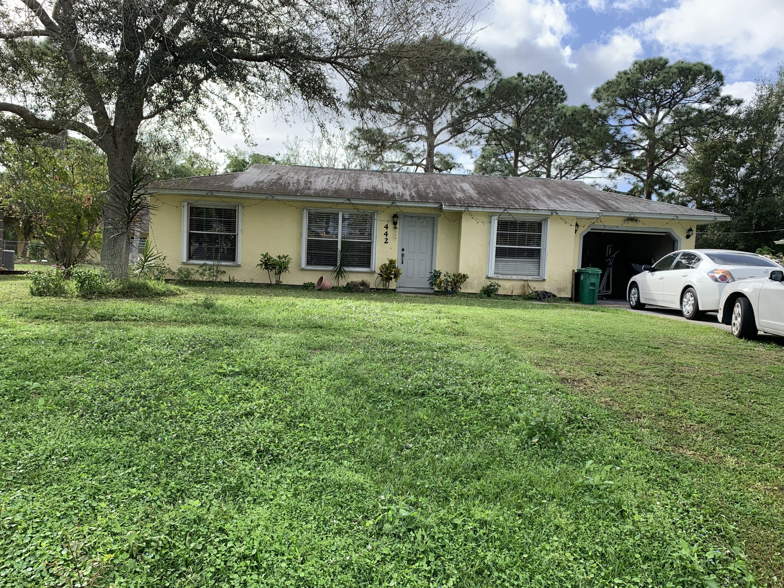 442 Lincoln Avenue, Port Saint Lucie, Florida 34983, 2 Bedrooms Bedrooms, ,2 BathroomsBathrooms,A,Single family,Lincoln,RX-10591622