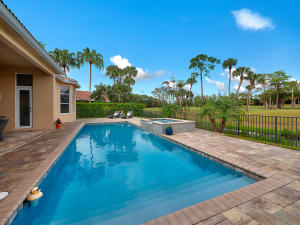 Beautiful custom built ONE STORY cul-de-sac estate home with a 2 year new enormous pool,spa& patio, overlooking the 4th&5th Fairways of the Preserve at Ironhorse, a non-mandatory country club. This 3 bedroom plus den (convertible 4th bedroom), 3 1/2 bath home has 3548 sq.ft. under air and sits on over 1/3 fenced landscaped acre.with circular driveway&2.5 garages. Gourmet kitchen has granite, tumbled marble backsplash,, breakfast bar, breakfast nook,&double ovens. Kitchen storage is phenomenal with a multitude of cabinets as well as a walk-in pantry & custom built in pantry cabinets. The master bedroom suite includes a separate sitting area which leads out to the 50 X80custom tile patio and the 12X36 heated saltwater pool&o/sized spa. Owner spent $85k! The spacious master bathroom has