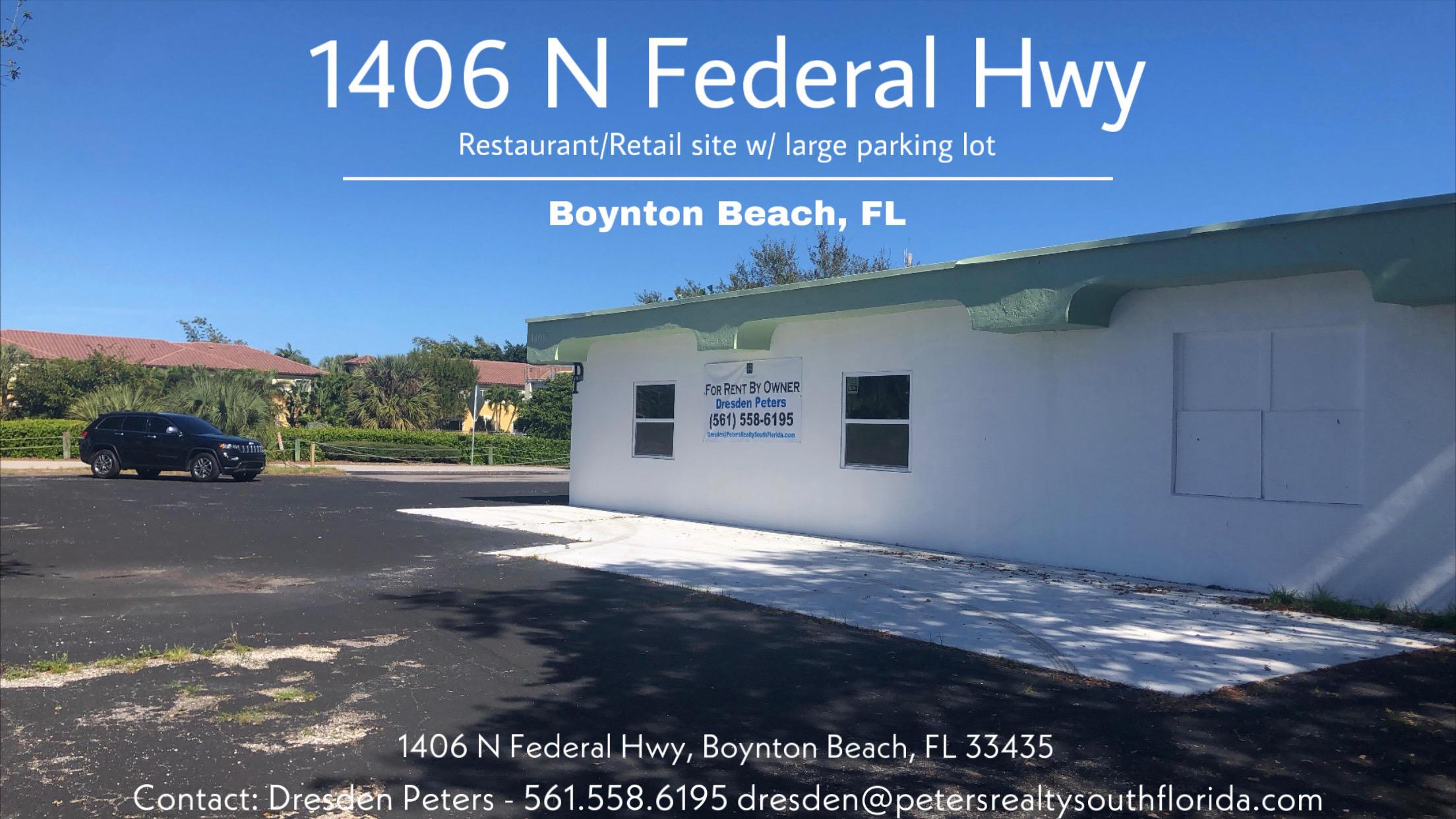 1406 N Federal Highway, Boynton Beach, Florida 33435, ,for Sale,1406 N Federal,RX-10595100, , , ,for Sale