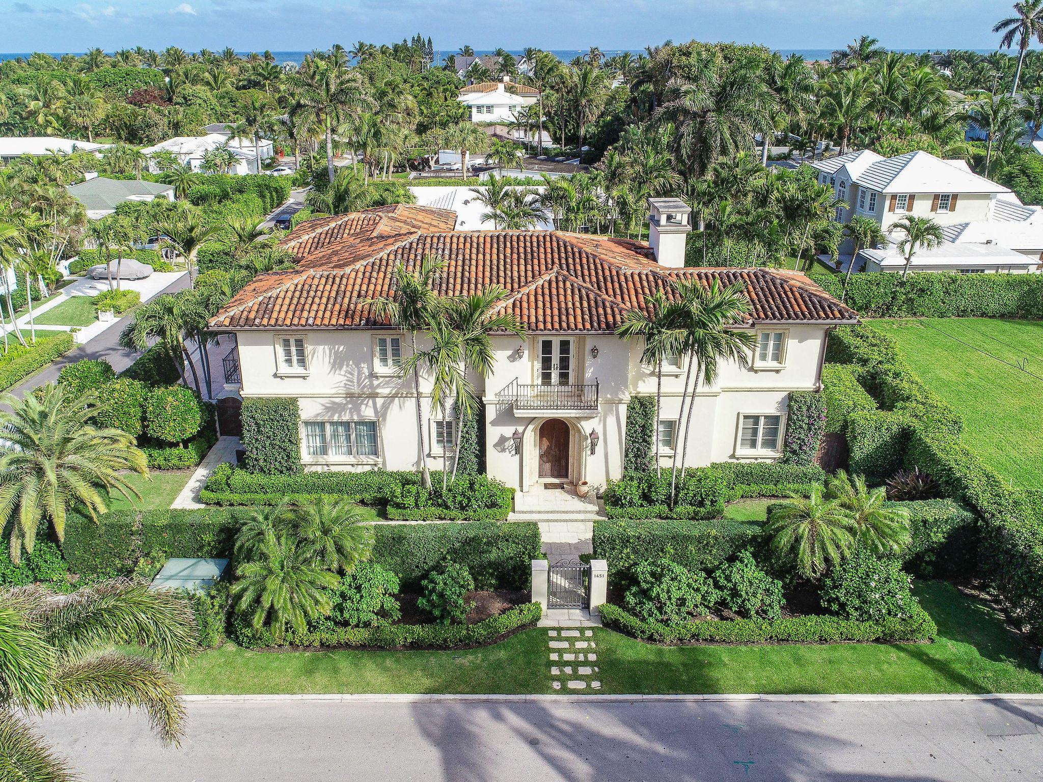 1451 N Lake Way - Palm Beach, Florida