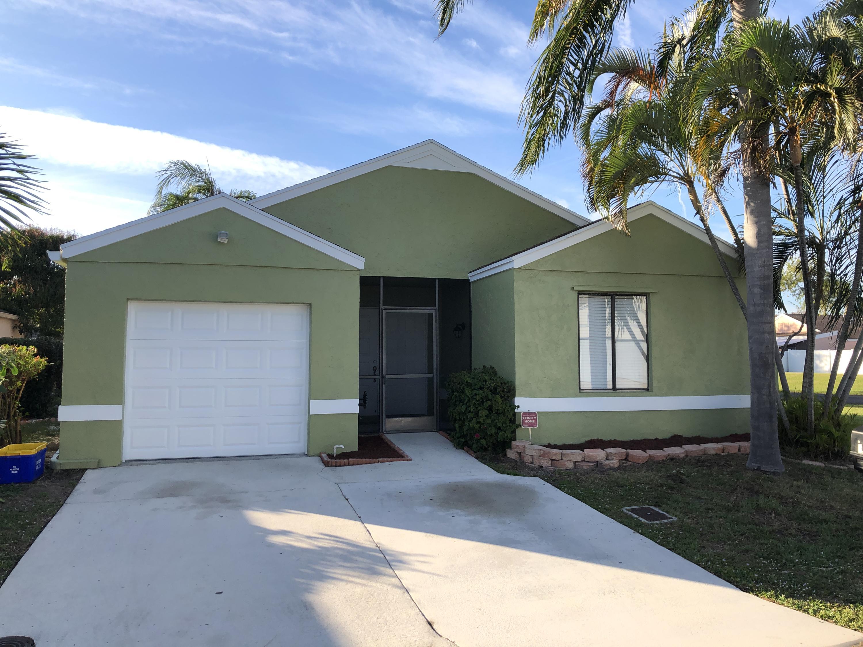 Home for sale in BOYNTON LAKES 4 Boynton Beach Florida