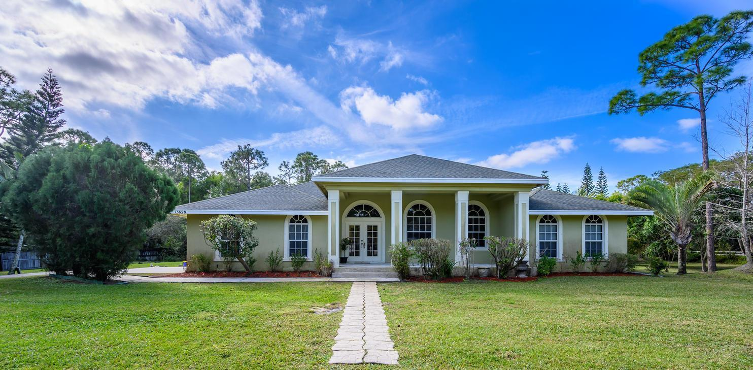 Home for sale in Royal Palm Beach Acreage Royal Palm Beach Florida