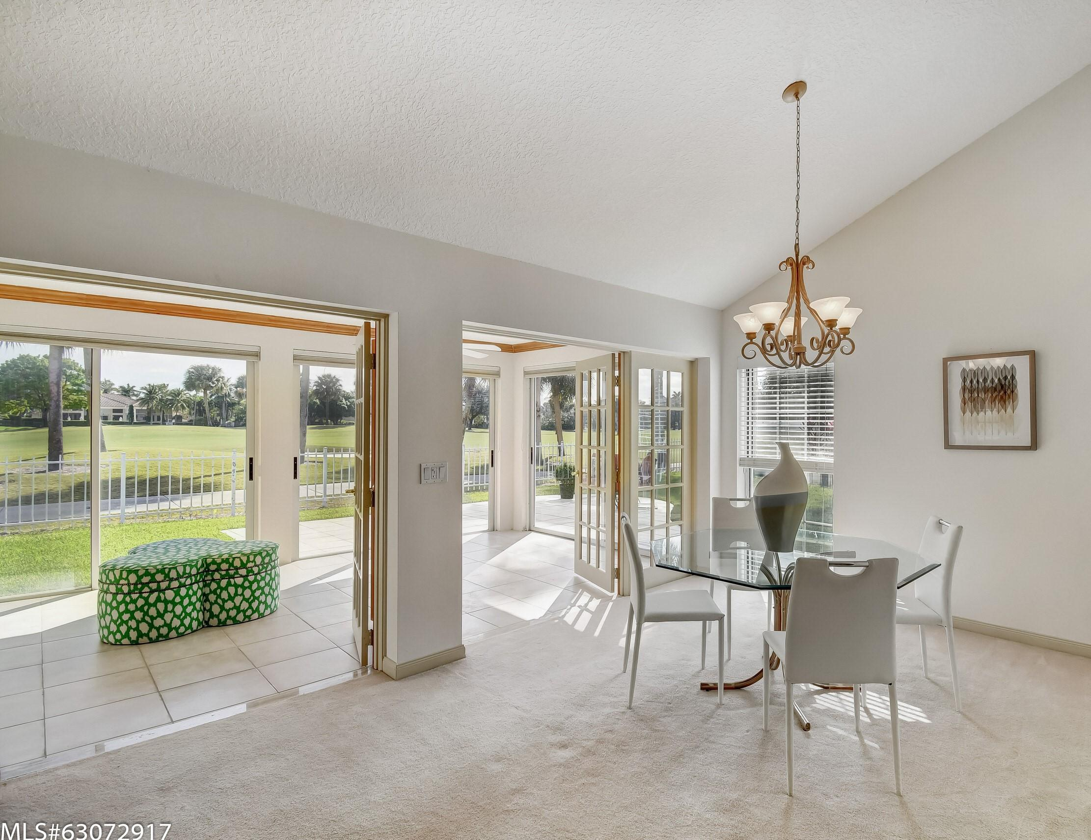 Dining Room with Wrap Views