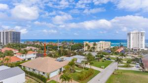 Dont miss this great 4 bed/3 bath/2 car garage beach home, just steps to the ocean access on elevated lot with limited ocean views! This 1 story custom built home features high ceilings, separate guest suite, spacious kitchen that opens to the living areas, covered courtyard patio, pool & spa. The generously-sized master suite offers beautiful wood floors, a spacious & luxuriously renovated bathroom with waterworks stand alone tub and faucets, marble floors and accent wall; & walk-in closet. Other features include detached guest suite kitchenette, great split floor plan, concrete block 1 story home, nice size property & yard. The Juno Beach Pier & Pelican Lake are nearby, & the home is a short ride to the world class shopping and restaurants on PGA Blvd, & 20 minutes to PBI Airport. Short