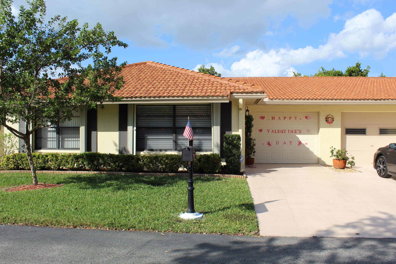 Home for sale in Bent Tree Villas West Boynton Beach Florida