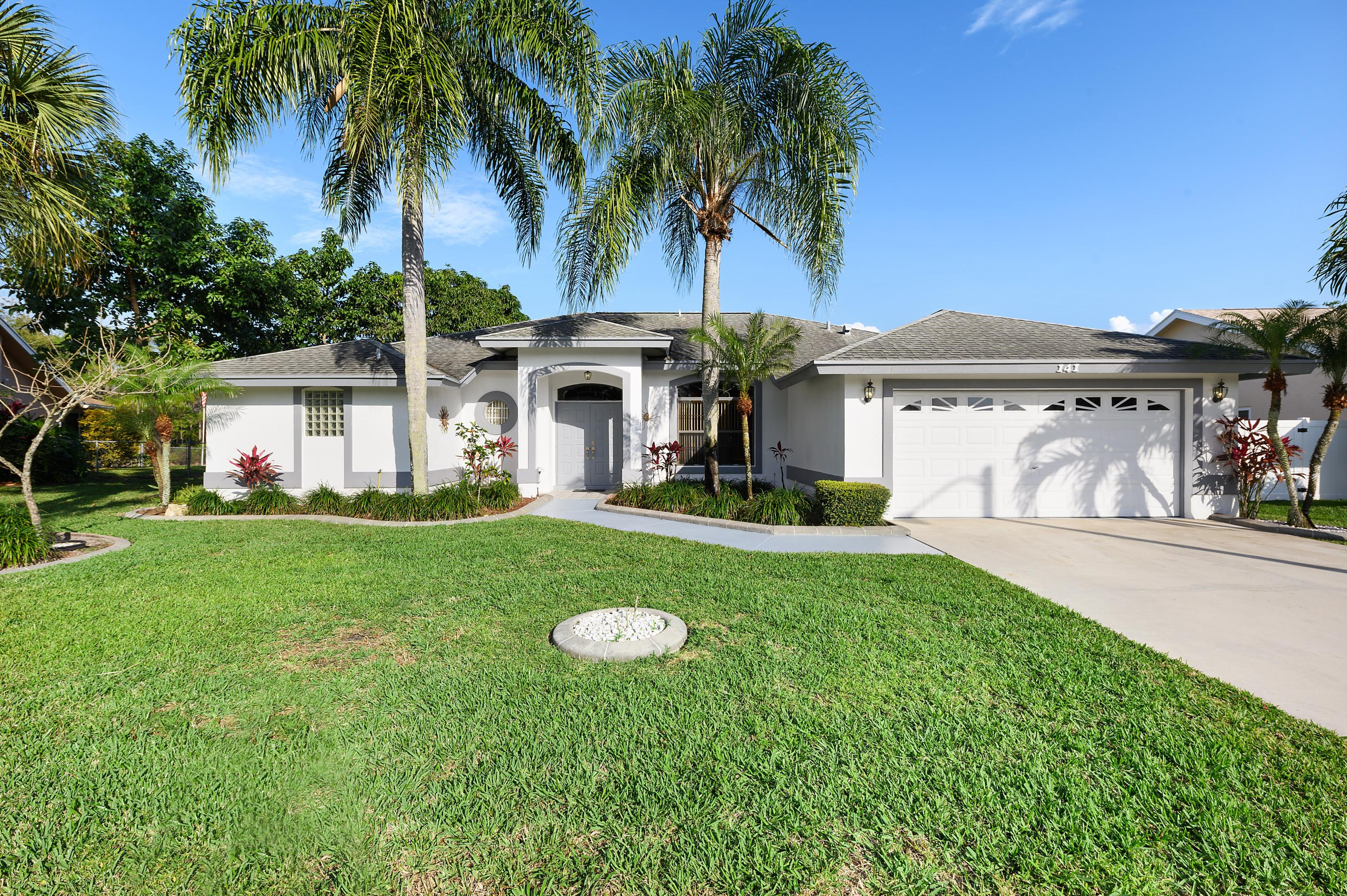 Home for sale in Crestwood Royal Palm Beach Florida
