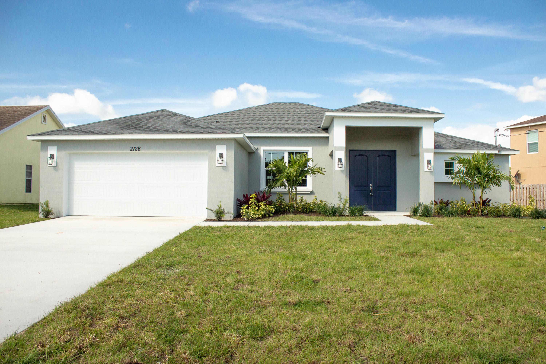 Photo of 2126 SW Alminar Street, Port Saint Lucie, FL 34953